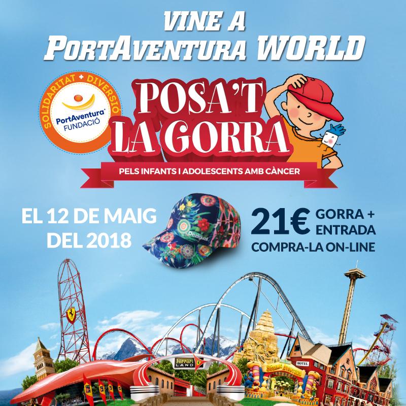 Posa't la Gorra! a PortAventura Park!