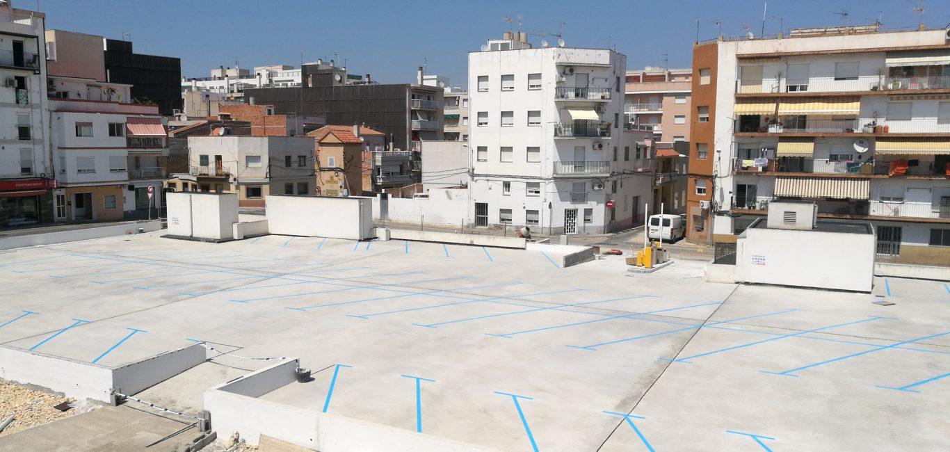 L'aparcament Llibertat obrirà les portes el pròxim dilluns amb un total de 66 places