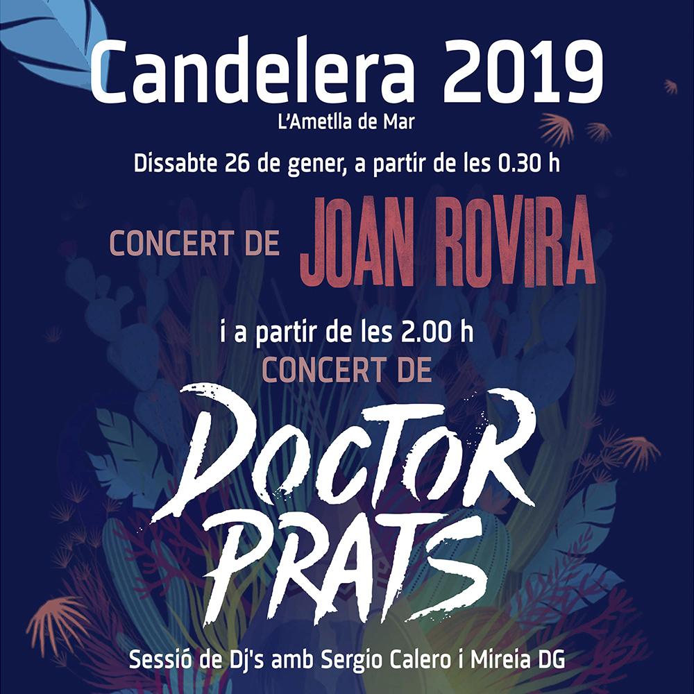 Concert de Festa Major amb Doctor Prats i Joan Rovira amb la banda