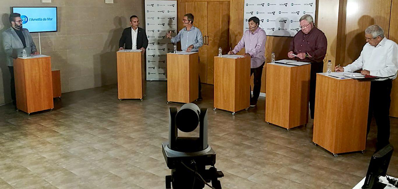 Recta final a la campanya electoral amb el debat a cinc amb propostes i crítiques