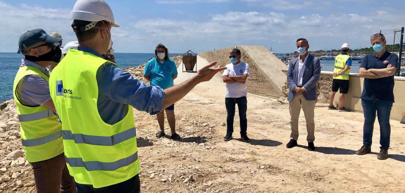 Reparar els danys del Glòria al port de l'Ametlla de Mar costarà 3,9 milions d'euros