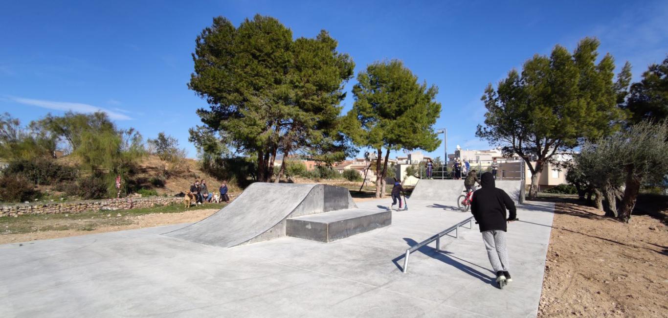 L'skatepark de l'Ametlla de Mar ja és una realitat
